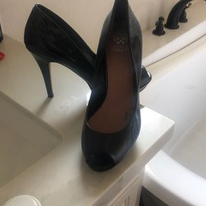 Black patten Vince Camuto heels